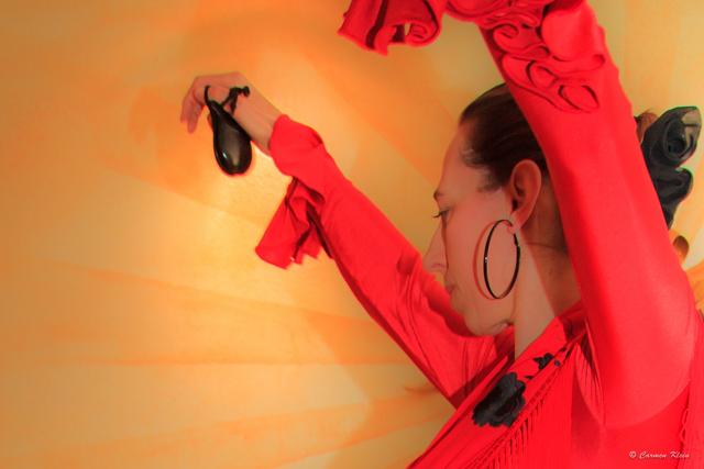 Flamenco Kastagnettenbild
