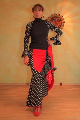 Flamenco ist rhytmische Eleganz